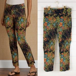 Soft Surroundings NWOT Bloom Floral Pant Stretchy